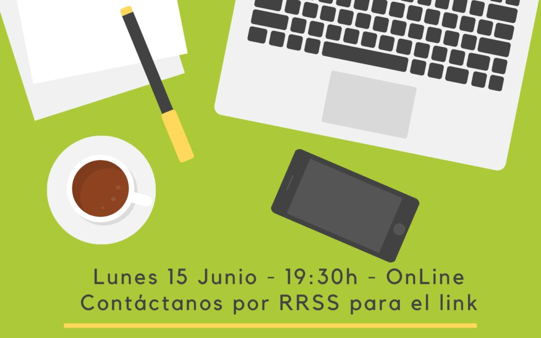 Reunión del grupo de trabajo general, ¿te apuntas? – lunes 15 junio – 19:30h