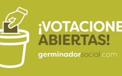 ¡Somos finalistas en el Germinador Social!, ¡vótanos!