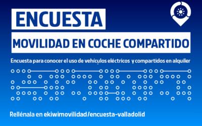 Encuesta: ¿Usarías carsharing en Valladolid?.