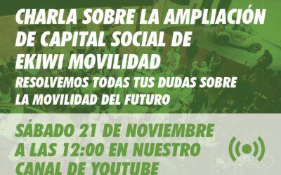 Resolvemos tus dudas sobre la ampliación de capital – Sábado 21 – 12h por Youtube