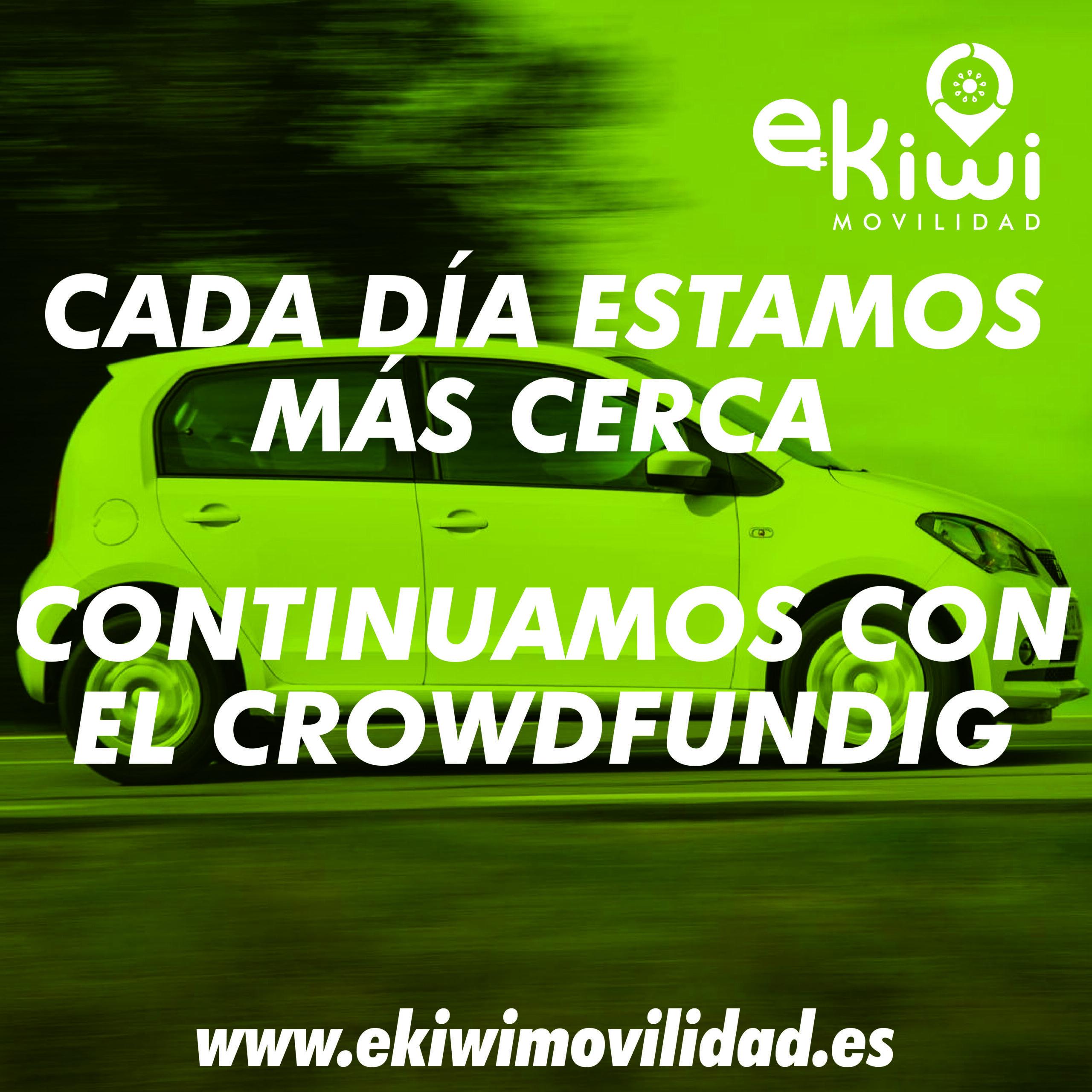 Gracías a tí estamos más cerca. Continuamos con el crowdfunding.