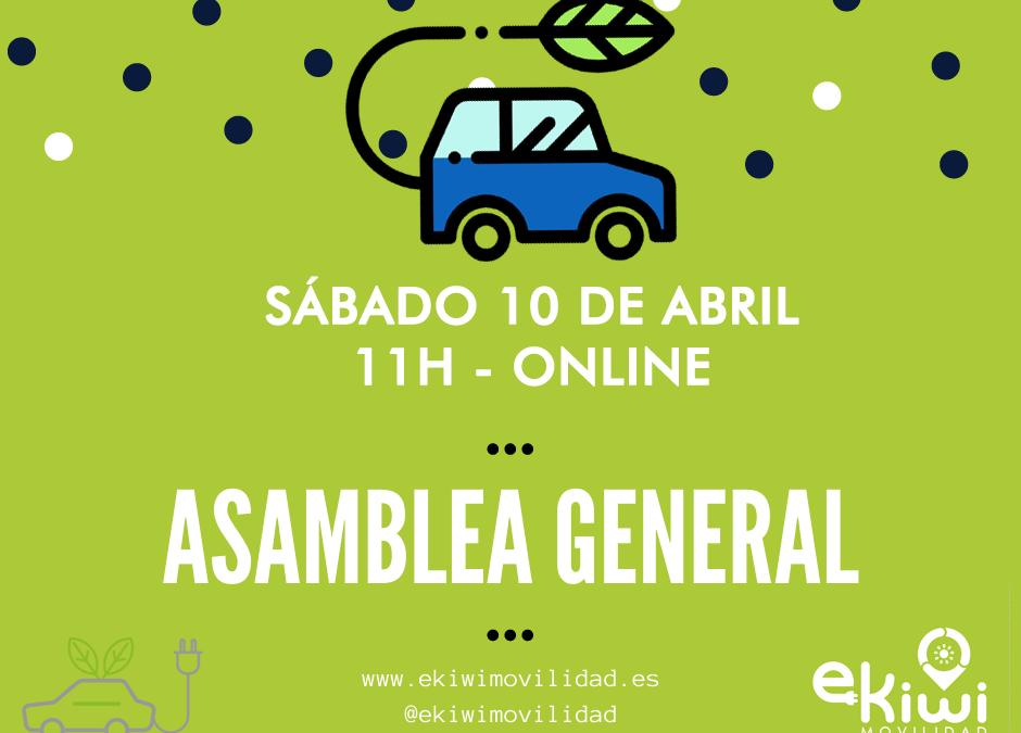 Asamblea General – 10 al 17 de abril. ¡Participa!