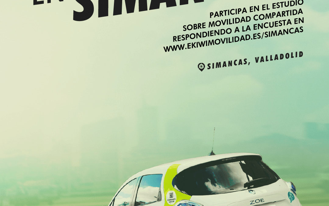 ¿Usarías un carsharing en Simancas?. Entra y rellena la encuesta.