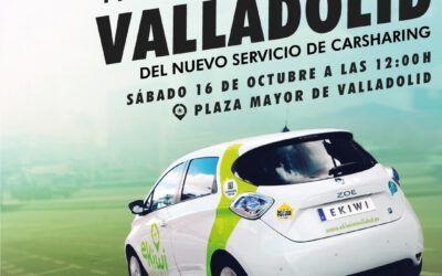 ¡Llegó el gran día!. Presentación oficial – Sábado 16 octubre a las 12h – Plaza Mayor Valladolid